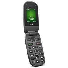 """PhoneEasy 606 Nero Senior Phone Display 2"""" Bluetooth Tasto SOS Radio FM - Italia"""