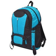 Zaino Da Trekking 40l Nero E Blu