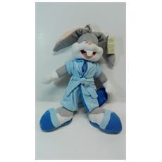 Looney Tunes - Peluche Bucks Bunny Con Veste Da Notte 50cm