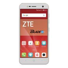 "Blade V8 Mini Bianco 16 GB 4G / LTE Dual Sim Display 5"" HD Slot Micro SD Fotocamera 13 Mpx Android Europa"