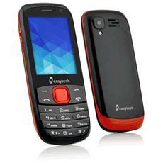 """M300 Nero / Rosso Dual Sim Display 2.4"""" connessione 3G Bluetooth + Fotocamera - Italia RICONDIZIONATO"""