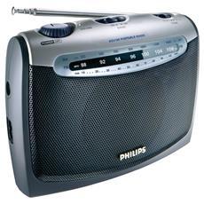 Portable Radio, Portatile, 87.5 - 108 MHz, 525 - 1606.5 kHz, 300W, 3,5 mm, 300h