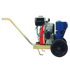 Motopompa autoadescante con carrello cilindrata cc. 79