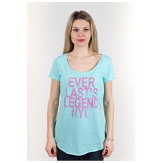 T-shirt Donna Light Jersey Azzurro Variante 1 M