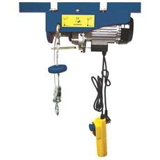 Verricello Carrucola Elettrica Fast 250/500 Kg Con Telecomando A Cavo