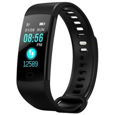 Smart Band Y5 Activity Tracker Fitness Cardiofrequenzimetro Calorie Pedometro Nero