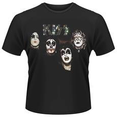T-Shirt Kiss - 1974 Unisex Nera L 803341480476