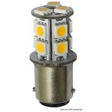 Lampadina LED 12/24 V BA15D 2 W 140 lm
