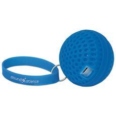 Speaker Portatile Bluetooth Wireless Luminoso Atom Blu 3 W