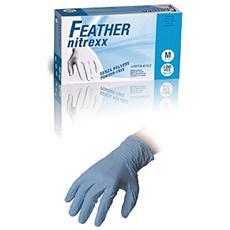 Guanti In Nitrile Blu Freather Nitrexx Pezzi 100 S