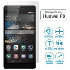 Pellicola Per Huawei P8 Vetro Temperato Wimitech