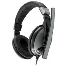 ICSB-HS302 - Cuffie Gaming con Microfono Nero HS-302
