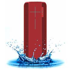 ULTIMATE EARS - Speaker Wireless Portatile Megaboom Bluetooth / NFC colore Rosso