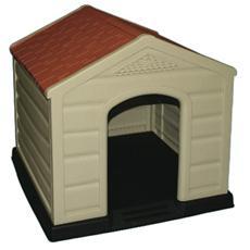 Cuccia per cani in resina da esterno 89x92x89