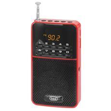Radio Portatile Fm Dr 730 M Rosso