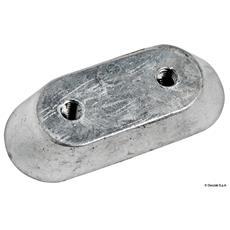 Anodo alluminio piatrina Honda mm 63x25