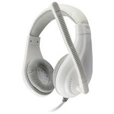 ICSB-HS1520WS - Cuffie Gaming con Microfono Bianco HS-1520WS
