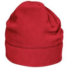 Berretto In Pile Unisex (s / m) (rosso)