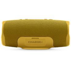 Speaker Audio Portatile Charge 4 Wireless Bluetooth Impermeabile IPX7 Colore Giallo