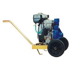 Motopompa centrifuga con carrello cilindrata cc. 97