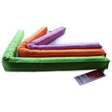 Paraspifferi In Feltro A Sezione Quadrata, 100 Cm, 1 Pezzo, Colori Assortiti