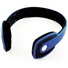 Cuffie con Microfono Bluetooth CF002 Freedom 2 Colore Blu