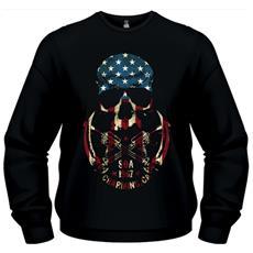 Sons Of Anarchy - Skull (Felpa Unisex Tg. Xl)