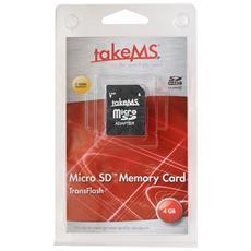 microSD High Capacity (microSDHC) takeMS MS4096TFL-HC4R 4 GB - 1 Scheda