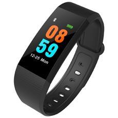 Smart Band I9 Water Resistant Ip68 Activity Tracker Fitness Cardiofrequenzimetro Pedometro Calorie Nero