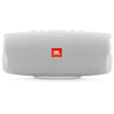 Speaker Audio Portatile Charge 4 Wireless Bluetooth Impermeabile IPX7 Colore Bianco