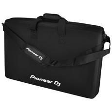DJC-RX2 Controllo per DJ Cover Tessuto felpato, Spugna Nero custodia per attrezzatura audio