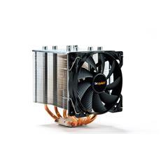 ! Shadow Rock 2, Refrigeratore, Processore, 12 cm, Nero, Rame, Argento, Alluminio, Rame, 0,22m