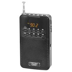 Radio Portatile Fm Dr 730 M Nero