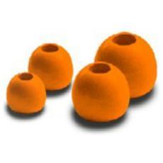 Brass Beads Hot Orange 2,8 Mm Unica Arancio