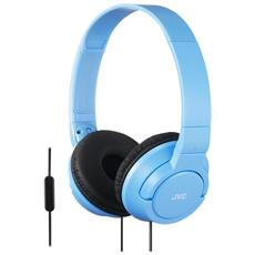 Cuffie con Telecomando e Microfono HA-SR185-AN colore Blu