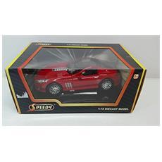 Macchina Sportiva Peugeot Prototipo Rossa Cabrio 1:18 Diecast Model