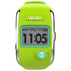 Smartwatch Bodyguard Notifiche Chiamate e Antifurto con localizzatore GPS per Android e iOS - Verde Lime