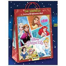 Disney - Frozen / Principesse Disney - Shopper Con 6 Libri