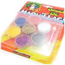 kit 'maquillage festif' 7 colori - [ i6988]
