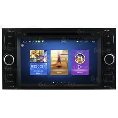 Autoradio Ford S-max Kuga Mondeo C-max Android Usb Wifi Mp3 Gps Black Jfsound Mirror Link Airplay