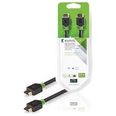 KNV34000E20, HDMI, HDMI, Maschio, Maschio, Dritto, Dritto