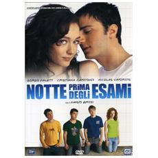 Dvd Notte Prima Degli Esami