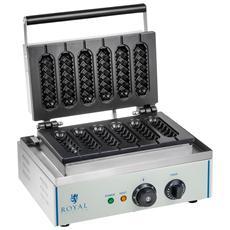 Piastra Per Waffel A Stecco - 1 X 1.500 Watt
