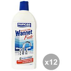 Set 12 Wannet Anticalcare Forte 500 Ml. Detergenti Casa