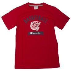 T-shirt Bambino Manica Corta L Rosso