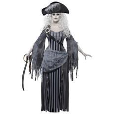 Costume Pirata Fantasma Halloween Da Donna Medium