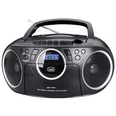 Radio Registratore Cd Cassetta CMP 572 Colore Nero