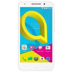 "U5 HD Bianco 8 GB 4G / LTE Dual Sim Display 5"" HD Slot Micro SD Fotocamera 13 Mpx Android Italia"