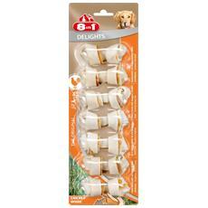 Snack per Cani Delights con Pollo 7 ossi XS