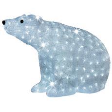 Orso Bianco con Luci LED